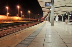 Stazione ferroviaria di Mainz Fotografie Stock Libere da Diritti