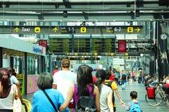 Stazione ferroviaria di Malmo, Svezia Immagini Stock Libere da Diritti
