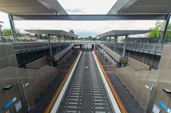 Stazione ferroviaria di Mitcham Immagine Stock