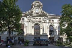 Stazione ferroviaria di Montreux Fotografia Stock Libera da Diritti