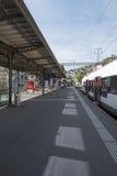 Stazione ferroviaria di Montreux Immagine Stock Libera da Diritti
