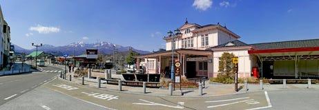 Stazione ferroviaria di Nikko Fotografia Stock Libera da Diritti