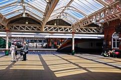 Stazione ferroviaria di Nottingham fotografia stock libera da diritti