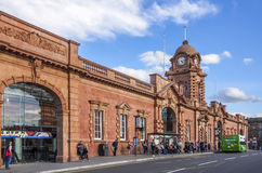 Stazione ferroviaria di Nottingham fotografie stock