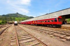 Stazione ferroviaria di Nuwara Eliya fotografia stock libera da diritti