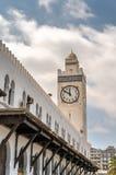 Stazione ferroviaria di Orano in Algeria, Nord Africa fotografia stock