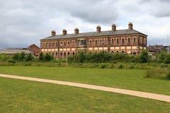 Stazione ferroviaria di Oswestry fotografie stock