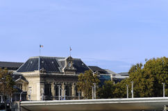 Stazione ferroviaria di Parigi Austerlitz Immagini Stock Libere da Diritti