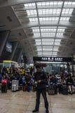 Stazione ferroviaria di Pechino Fotografia Stock