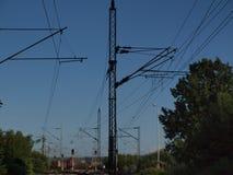 Stazione ferroviaria di Petrovaradin Immagini Stock