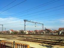 Stazione ferroviaria 1 di Petrovaradinska Immagini Stock