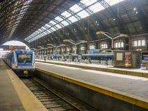 Stazione ferroviaria di Retiro - Buenos Aires Argentina Immagini Stock Libere da Diritti