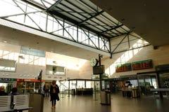 Stazione ferroviaria di Segovia-Guiomar, Spagna fotografie stock