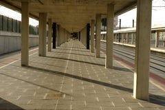 Stazione ferroviaria di Segovia-Guiomar, Spagna immagine stock
