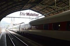 Stazione ferroviaria di St Gallen Fotografie Stock