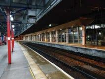Stazione ferroviaria di Stockport fotografia stock