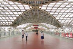 Stazione ferroviaria di TsingDao Immagine Stock