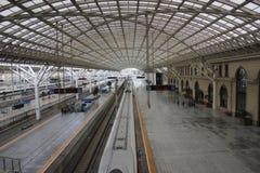 Stazione ferroviaria di TsingDao Fotografia Stock Libera da Diritti