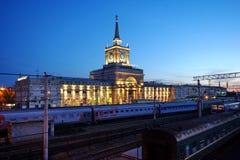 Stazione ferroviaria di Volgograd Fotografia Stock Libera da Diritti