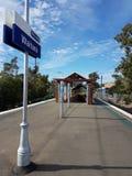 Stazione ferroviaria di Waitara Immagine Stock Libera da Diritti