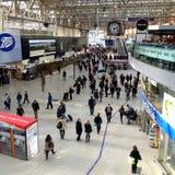Stazione ferroviaria di Waterloo Fotografia Stock Libera da Diritti