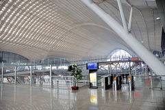 Stazione ferroviaria di Wuhan Immagine Stock Libera da Diritti
