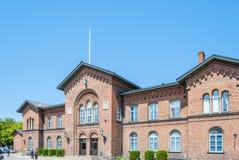 Stazione ferroviaria di Ystad Immagini Stock