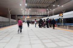 Stazione ferroviaria di Zhongshan fotografia stock libera da diritti
