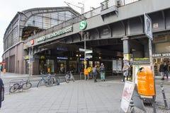 Stazione ferroviaria in Friedrichstrasse immagini stock