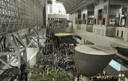 Stazione ferroviaria Giappone di Kyoto Fotografia Stock