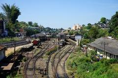 Stazione ferroviaria Hatton fotografia stock libera da diritti