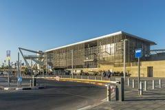 Stazione ferroviaria in Israel Beer Sheva immagine stock libera da diritti