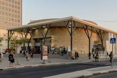 Stazione ferroviaria in Israel Beer Sheva immagini stock libere da diritti
