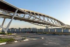Stazione ferroviaria in Israel Beer Sheva fotografia stock libera da diritti