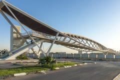 Stazione ferroviaria in Israel Beer Sheva fotografie stock
