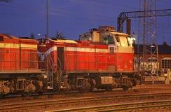 Stazione ferroviaria in Kokkola finland Fotografia Stock