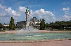 Stazione ferroviaria a Limoges Fotografia Stock