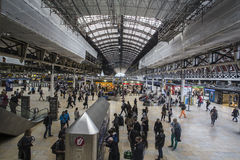 Stazione ferroviaria Londra di Paddington Immagini Stock Libere da Diritti