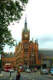 Stazione ferroviaria Londra di St Pancras Fotografie Stock Libere da Diritti