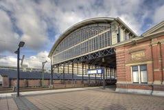 Stazione ferroviaria Olanda Spoor Immagine Stock Libera da Diritti