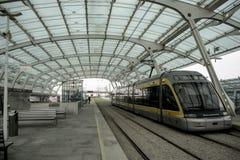 Stazione ferroviaria Oporto della metropolitana Fotografia Stock Libera da Diritti