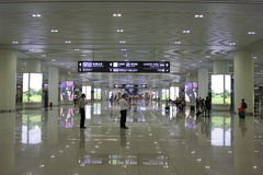 Stazione ferroviaria orientale di Hangzhou Immagine Stock Libera da Diritti