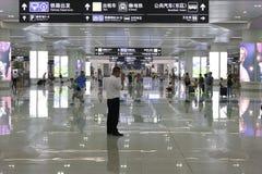 Stazione ferroviaria orientale di Hangzhou Fotografia Stock Libera da Diritti