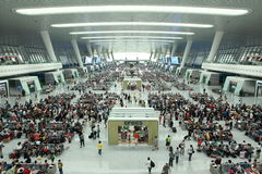 Stazione ferroviaria orientale di Hangzhou Immagini Stock