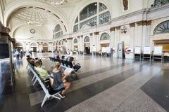 Stazione ferroviaria principale a Barcellona Fotografia Stock Libera da Diritti