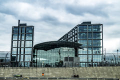 Stazione ferroviaria principale del ` s di Berlino Immagine Stock
