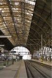 Stazione ferroviaria principale di Praga Fotografie Stock