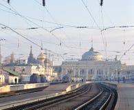Stazione ferroviaria principale a Odessa Fotografie Stock Libere da Diritti