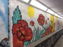Stazione ferroviaria, Ravenna, RA, Italia - 3 novembre 2017: Via a Immagini Stock