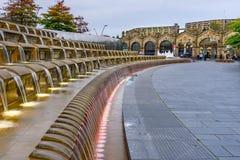 Stazione ferroviaria Sheffield Yorkshire fotografia stock libera da diritti
